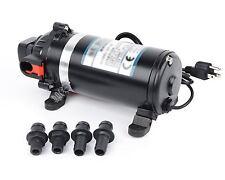 110V-120V 160PSI High Pressure Misting Pump Booster Diaphragm Water Pump Sprayer