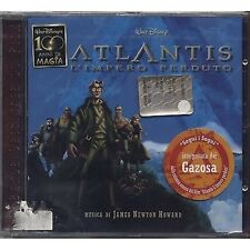 Atlantis - L'impero perduto - JAMES NEWTON HOWARD GAZOSA CD OST 2001 SEALED