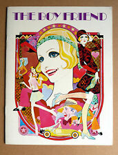 THE BOY FRIEND * SOUVENIR-HEFT- ENGLISH - SOUVENIR BROCHURE 1971 TWIGGY