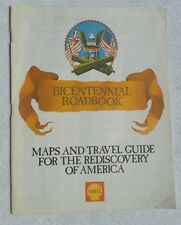 BICENTENNIAL ROADBOOK  SHELL OIL CO  1976
