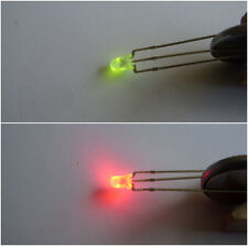 Dual LEDs RED / GREEN  X 20  common anode inc. resistors