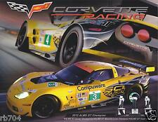 2013 ALMS Corvette Hero Card Le Mans From 12 Hours of Sebring