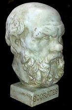 Socrates Classical  Athenian philosopher Greek Italian Style Sculpture Bust 40cm