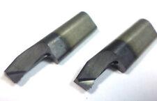 2 unidades cuerno Super mini barra de perforación 105 0145, 4141. tf45 con IK VHM nuevo h1393