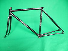 Level Black with silver flake NJS Keirin Frame Track Bike Fixed Gear