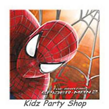 The amazing spiderman Party - 20 serviettes 33 cm-Anniversaire-free post en uk