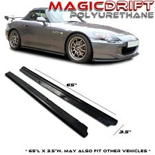 HONDA S2000 AP1 AP2 DF JDM SIDE SKIRT FLAT BOTTOM LINE EXTENSION SPLITTER KIT