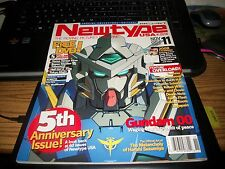 Newtype USA November 2007 Vol 6 #11 5th Anniversary Issue W/ Poster
