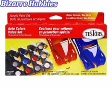 Testors  Acrylic Model Car Paint Set TES9185