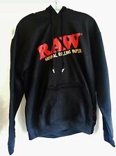 Raw Rolla Wear Rolling Papers Pull Over Hoodie Sweatshirt Alligator Clips  SZ L