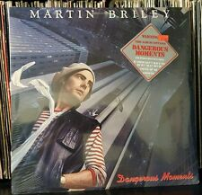 MARTIN BRILEY Dangerous Moments hype sticker GREENSLADE related  SEALED Lp