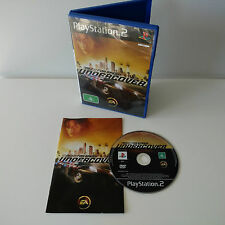 Need for Speed Undercover PlayStation 2 PS2 PAL Complete Aus Seller + FREE POST