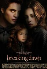 Twilight Saga Breaking Dawn MOVIE Kristen Stewart Robert Pattinson A4 Poster 2