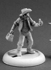 Coot Jenkins Prospector Reaper Miniatures Savage Worlds Miner Western Wild West