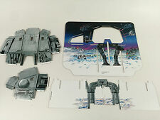 replacement vintage star wars esb hoth ice planet backdrop supports body head