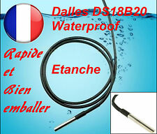 DS18B20 Dallas 1-Wire Digital Thermometer Etanche (Waterproof)