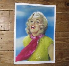 Marilyn Monroe Fantastic New Scarf POSTER