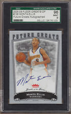 05-06 2005-06 Fleer Greats of the Game Monta Ellis Auto RC /99 SGC 96 MINT 9 BGS