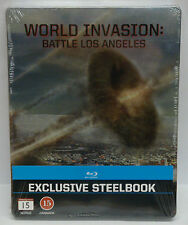 World Invasion Battle Los Angeles Blu-ray EXCLUSIVE STEELBOOK Steel book - NEW