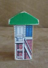 Control Tower Thomas Wooden railway train track airport station wood vintage