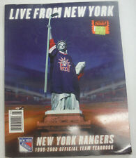 New York Ranger Magazine Live From New York 2000 Official Yearbook 061615R