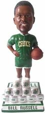 Bill Russell 11X Champ Rings/Warm-UP Boston Celtics Bobblehead Forever