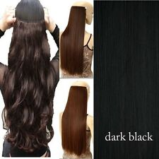 Real Thick One Piece Clip in Full Head Hair Extensions Extension As human Hair K