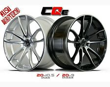20x9 & 20x10.5 Lenso - Axe Lenso CQE Staggered Wheels Silver /Black&Machined New