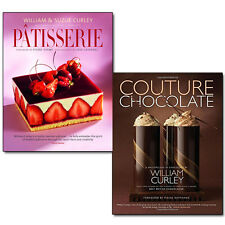 William Curley Collection Patisserie & Couture Chocolate 2 Books Set Pack NEW