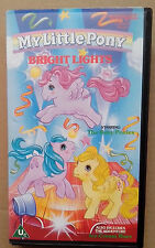 MY LITTLE PONY  Bright Lights  starring the Baby Ponies   1988 VHS Tape