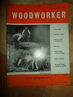 Woodworker August 1962 ~ Retro Vintage Illustrated Magazine + Advertising