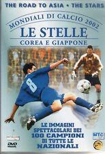DVD=MONDIALI DI CALCIO 2002 COREA E GIAPPONE=LE STELLE