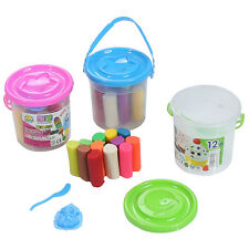 15 Pcs Kids Play Dough Doh Clay Modeling Cutter Tool Toy Plasticine Toys Set KN