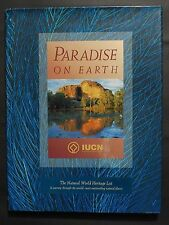 Paradise On Earth THe Natural World Heritage List hardcover book NEW