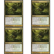 4 x GRISLY SALVAGE NM mtg Return to Ravnica Gold - Instant Com
