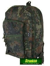 GERMAN ARMY STYLE 25 Litre DAYPACK RUCKSACK BACKPACK in FLECKTARN CAMO