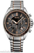 NEW HUGO BOSS 1513094 MENS DRIVER CHRONOGRAPH WATCH - 2 YEAR WARRANTY