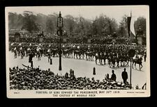 Royalty Funeral KING EDWARD VII 1910 Cortege at Marble Arch RP PPC