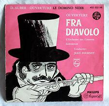 """7"""" Vinyl D.Auber - Ouverture le Domino Noir / Ouverture Fra Diavolo"""