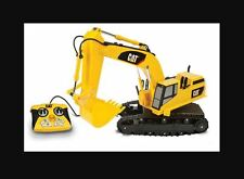 "CAT Caterpillar Light and Sound 15"" Remote Control RC Toy Excavator Dig Machine"