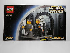 LEGO Instruction Book for Lego Set 7201 Star Wars Final Duel II  2002  6-12