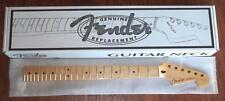 "Fender® MIM One Piece Maple Strat Neck~9.5"" Radius~22 MJ Frets~2 3/16~Brand New"