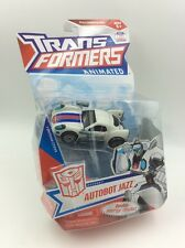 Transformers Animated Deluxe Class AUTOBOT JAZZ Hasbro MOSC.