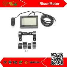 RisunMotor 24V 36V 48V eBike intelligent LCD3 Control Panel Display