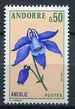 TIMBRE ANDORRE FRANCE NEUF  N° 230  *  FLEUR  ANCOLIE