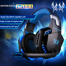 G2000 Superior Stereo Headphone Over-ear Super Bass Vivi Shock Gaming Headset PC