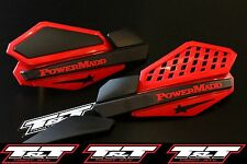 powermadd red hand guards N-STOCK power madd handguard yamaha banshee star atv