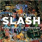 SLASH / GUNS N AND ROSES - WORLD ON FIRE VINYL LP ALBUM BRAND NEW SEALED