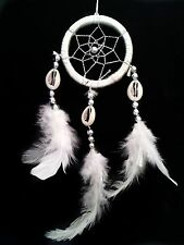 Handmade Dream Catcher with feather wall or car hanging decoration ornament-miwh