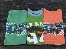 Old Navy Lot of 3 Boys Muscle Shirts Shirts Size XL 14-16 Green and Orange